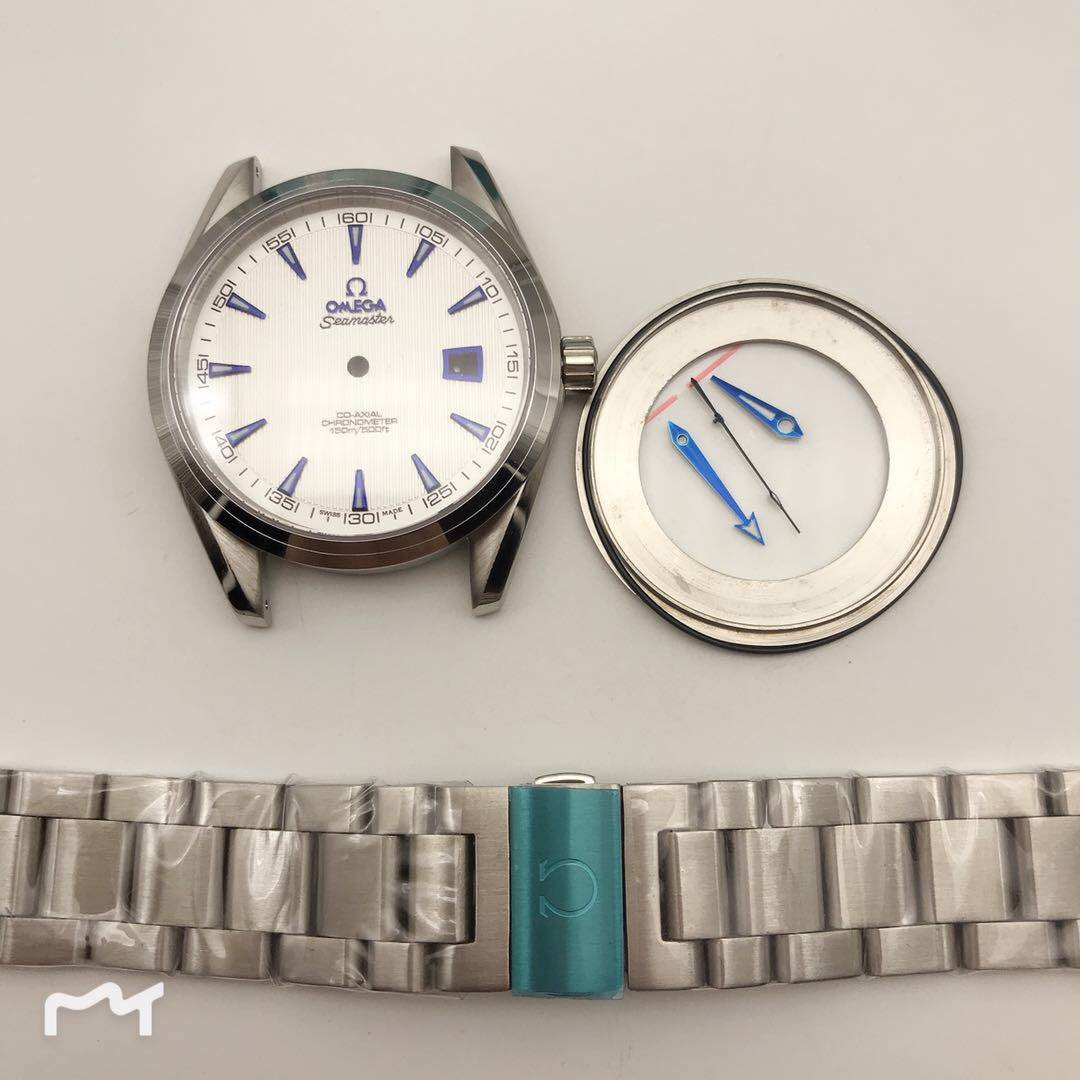 FIT ETA 2824 watch parts watch case kit for seamaster 300 style